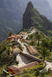 scenic view of masca,tenerife,canary islands,spainの写真素材 [FYI00698909]