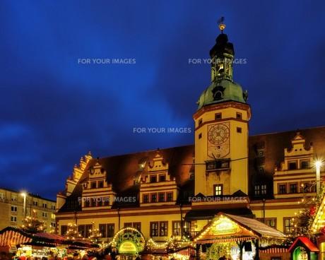 leipzig christmas market - leipzig christmas market 01の写真素材 [FYI00699029]
