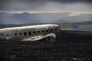 plane wreckの写真素材 [FYI00699195]