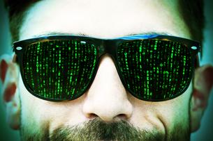 matrix eyesの写真素材 [FYI00699701]