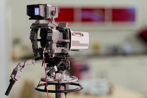 tv studio cameraの写真素材 [FYI00700690]