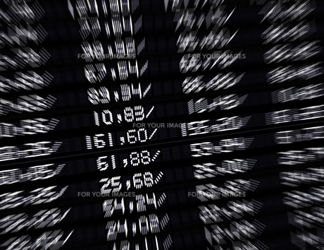 trade marketの写真素材 [FYI00700823]