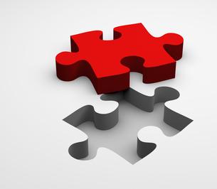 puzzle pieceの写真素材 [FYI00700842]