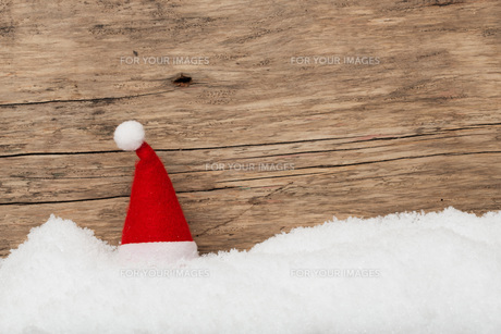 christmassy background for voucher,mapの写真素材 [FYI00700927]