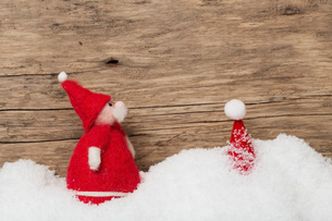 christmassy background for voucher,mapの写真素材 [FYI00700931]