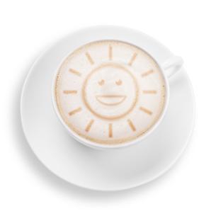 coffee sunの写真素材 [FYI00701231]