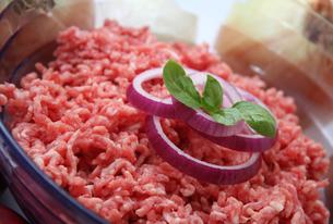 minced meatの写真素材 [FYI00701472]