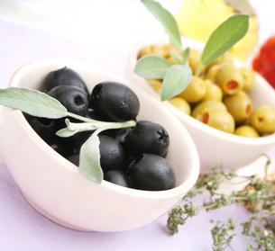 black olivesの写真素材 [FYI00701552]