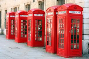 telephone boxの写真素材 [FYI00701598]