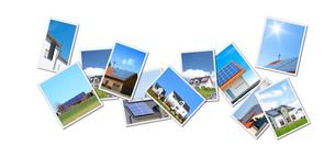 collage solarの写真素材 [FYI00701616]