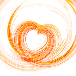 abstract heartの素材 [FYI00701656]