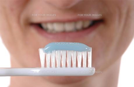 brush teethの素材 [FYI00701777]