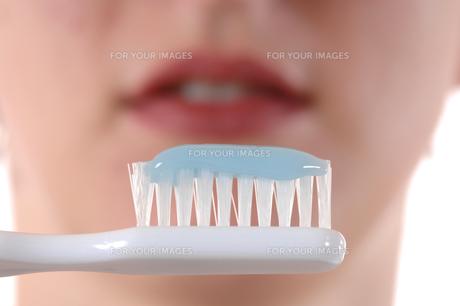 brush teethの素材 [FYI00701787]