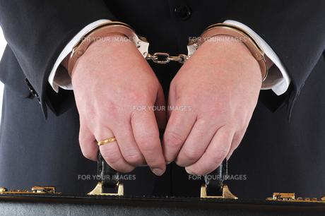 arrestedの写真素材 [FYI00701794]
