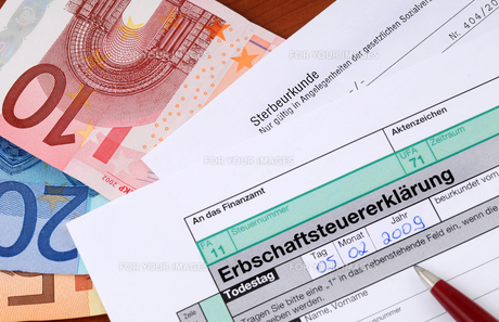 inheritance / german death taxの素材 [FYI00701803]