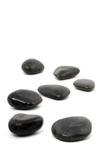 massage stones / lastone therapyの写真素材 [FYI00701805]