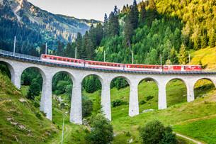 swiss railway. switzerland.の写真素材 [FYI00701860]