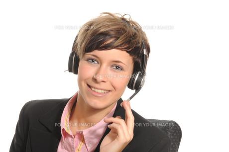 headsetの写真素材 [FYI00702084]