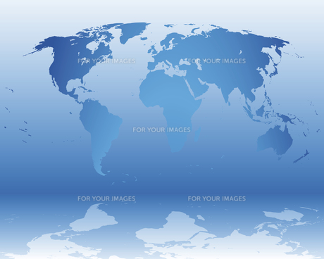 map of the worldの写真素材 [FYI00702266]