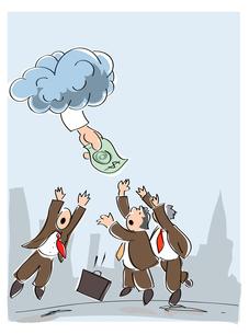 money-bankerの写真素材 [FYI00702522]
