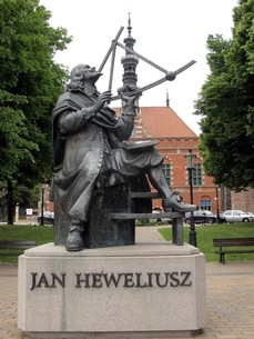 monument to hevelius in gdansk,gdanskの素材 [FYI00702875]