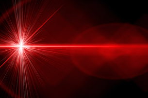 red laser lightの写真素材 [FYI00703063]