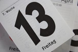friday the 13th.の素材 [FYI00703072]