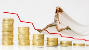 money,success,fortune,interest finance,woman,win,altersvorsorgeの写真素材 [FYI00703348]