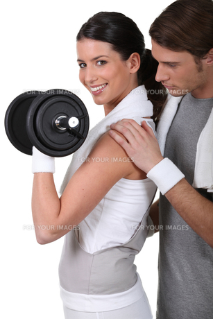 fitness_funsportの写真素材 [FYI00703826]