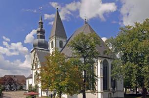 marienkirche in lippstadtの素材 [FYI00706631]