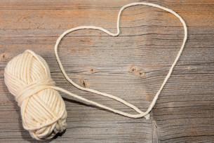 heart in woolの素材 [FYI00707232]