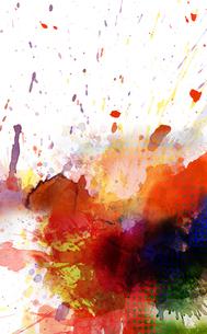 background blob colorの素材 [FYI00707427]