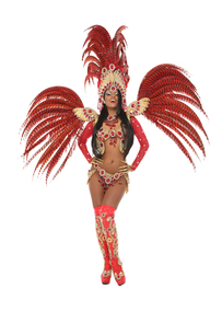 young brazilian samba dancerの写真素材 [FYI00707481]