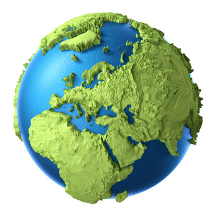 3d globeの素材 [FYI00708480]