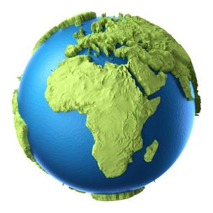 3d globeの素材 [FYI00708482]