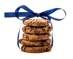 isolated cookiesの素材 [FYI00708524]