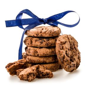isolated cookiesの素材 [FYI00708526]