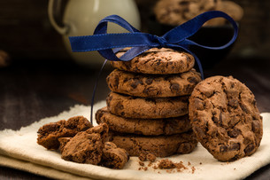 cookies in the stackの素材 [FYI00708527]