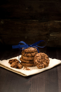 cookies in the stackの素材 [FYI00708528]