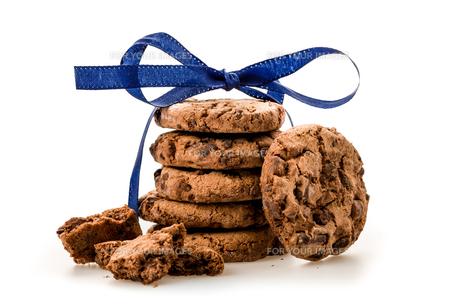 isolated cookiesの素材 [FYI00708531]