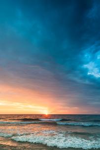 cala millor sunriseの写真素材 [FYI00708690]
