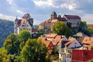 hohnstein castle - hohnstein castle 04の写真素材 [FYI00708994]