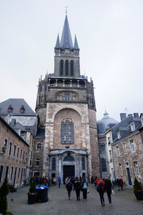aachen cathedralの写真素材 [FYI00709131]
