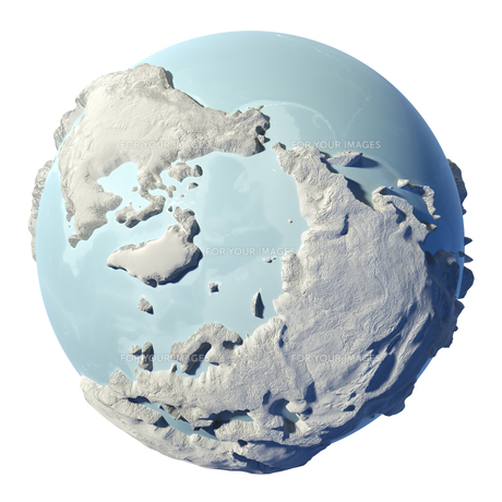3d globeの写真素材 [FYI00710524]