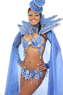 brazilian samba dancerの写真素材 [FYI00710708]