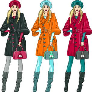 fashion_modelsの素材 [FYI00712049]