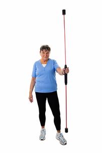 senior with vibrating rodの素材 [FYI00712080]