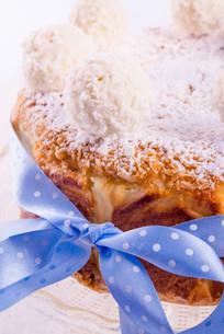 coconut quark cakeの写真素材 [FYI00713750]