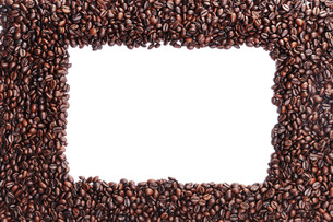 coffee beans area with windowの写真素材 [FYI00716961]