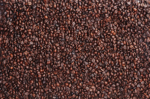 coffee beans surfaceの素材 [FYI00716964]